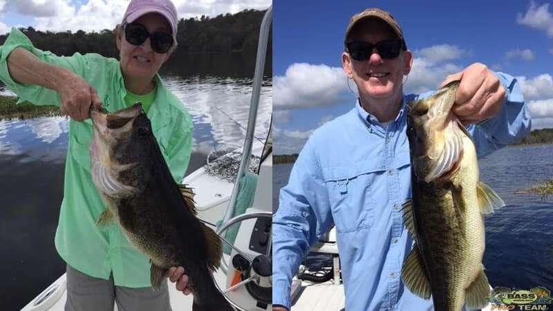 Another Giant Largemouth Bass Rodman Reservoir Fishing