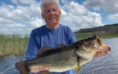 Family Rodman Reservoir Fishing for Florida Trophy Largemouth Bass